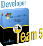 SetupBuilder Developer Edition - Team 5 licence